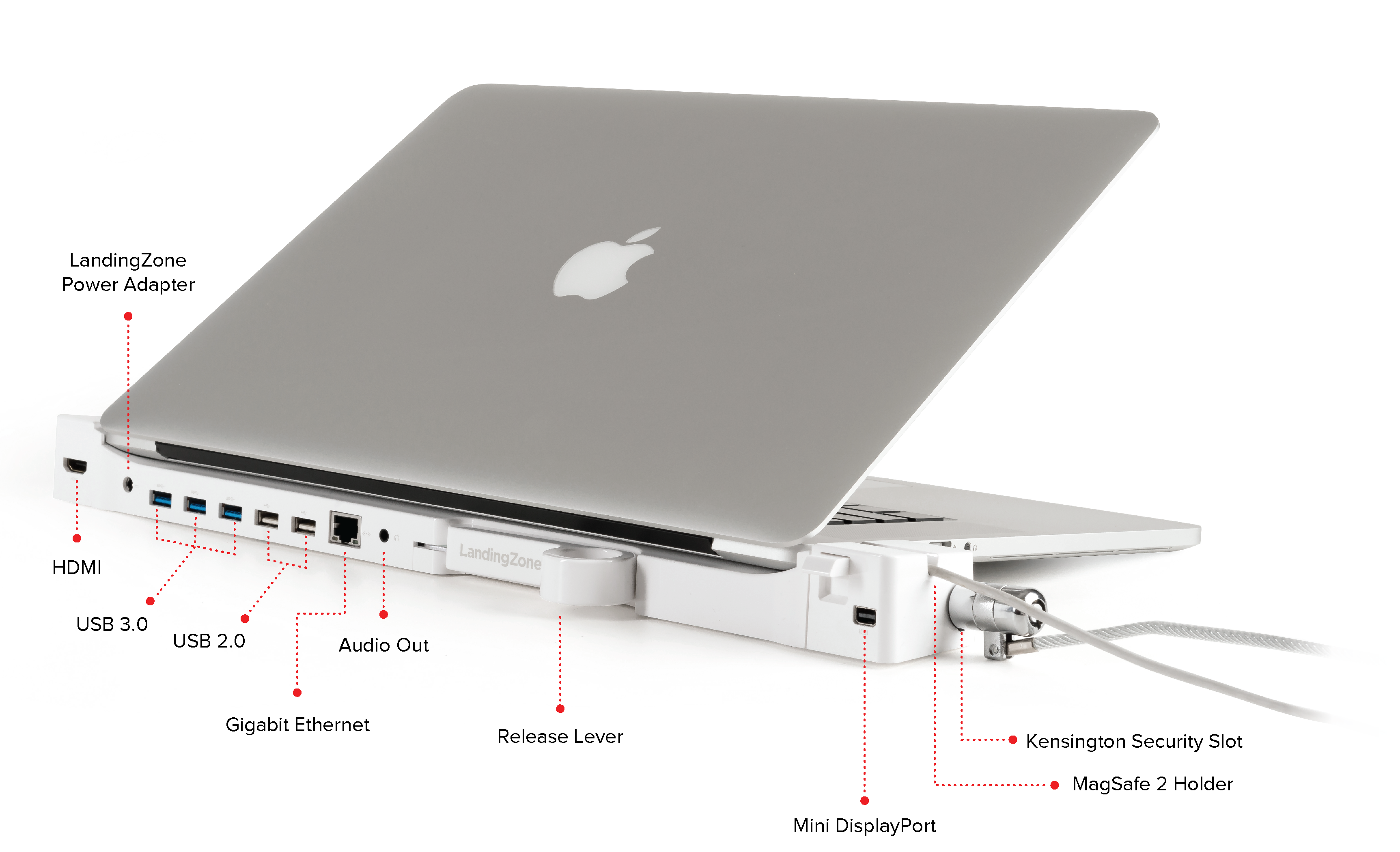 Landingzone Dock For The Macbook Pro With Retina Display