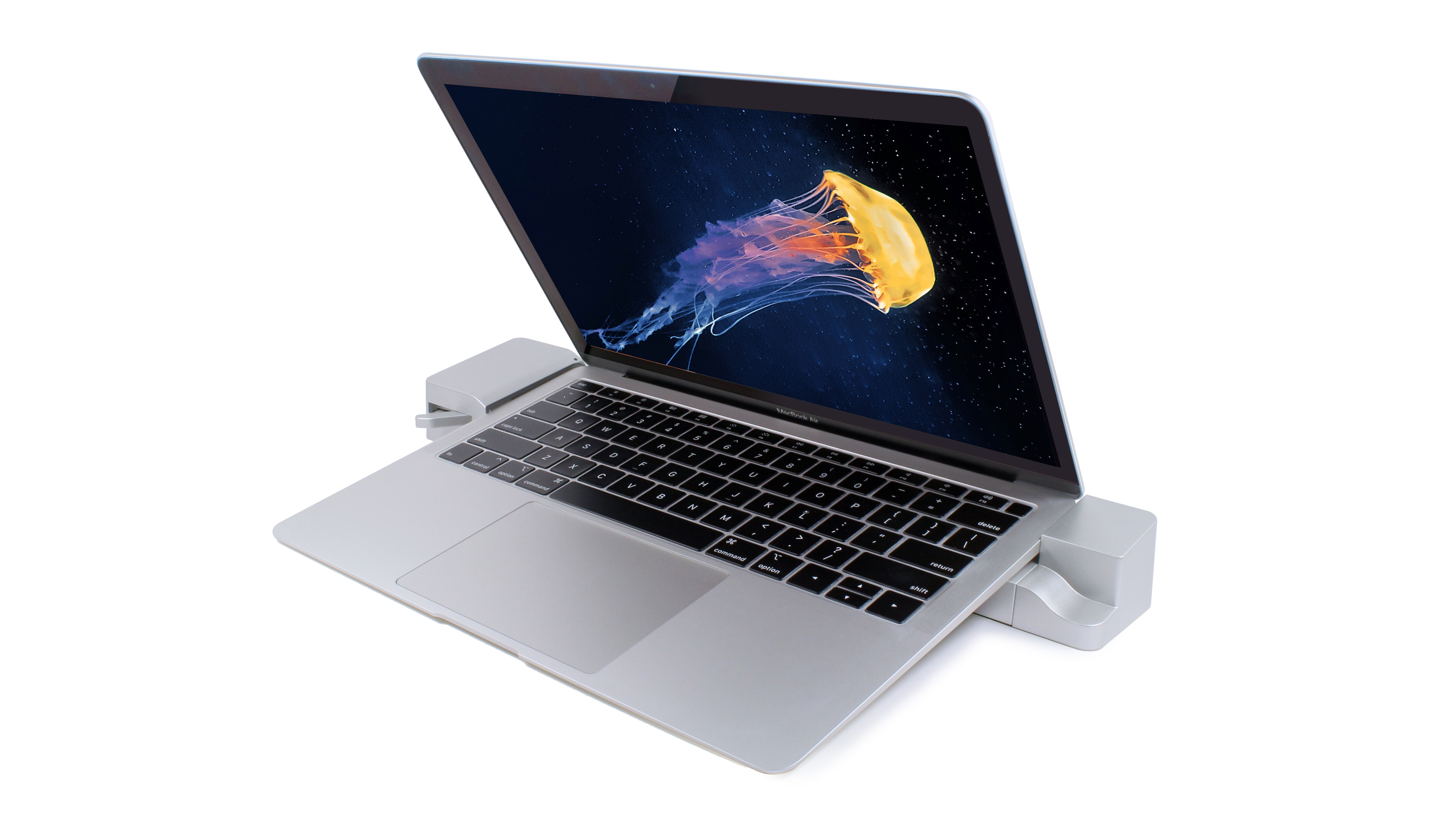 Docking Station for the 13-inch MacBook Air - Docked View