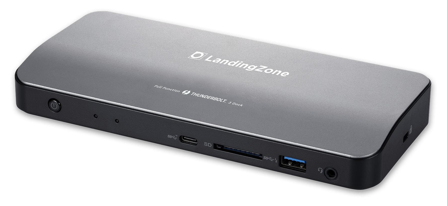 LandingZone Thunderbolt 3 Docking Station - Front View